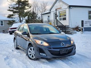 Used 2011 Mazda MAZDA3 No Accidents GT Sunroof Leather Power Heated seats Bluetooth for sale in Sutton, ON
