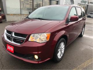 Used 2019 Dodge Grand Caravan Premium Plus w/Navigation, Trailer Tow Group, Blue for sale in Hamilton, ON