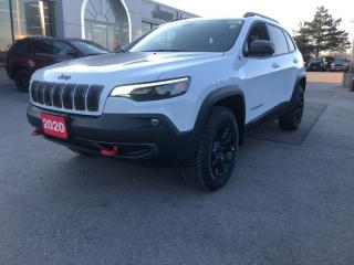 New 2020 Jeep Cherokee Trailhawk Elite 4x4 V6 for sale in Hamilton, ON