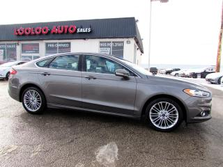 Used 2014 Ford Fusion SE Auto No Accident Navigation Camera Certified for sale in Milton, ON