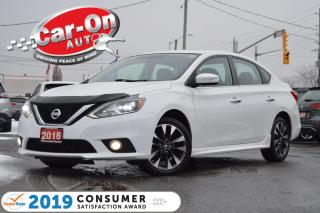 Used 2016 Nissan Sentra 1.8 SR LEATHER NAV SUNROOF REAR CAM HTD SEATS LOAD for sale in Ottawa, ON