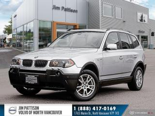 Used 2006 BMW X3 2.5i for sale in North Vancouver, BC