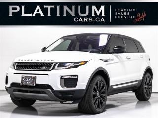Used 2016 Land Rover Evoque HSE, NAV, PANO, PUSH BUTTON, KEYLESS ENTRY for sale in Toronto, ON