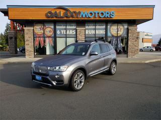 Used 2017 BMW X3 XDRIVE28I - AWD, Black Leather Interior, Power Panoramic Moonroof for sale in Courtenay, BC