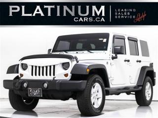 Used 2012 Jeep Wrangler UNLIMITED SAHARA, 2 TOPS, LOCAL ONTARIO VEHICLE for sale in Toronto, ON