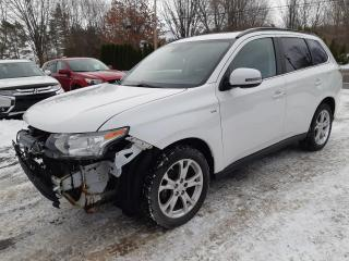 Used 2014 Mitsubishi Outlander GT 4 portes 4RM for sale in St-Pierre-Les-Becquets, QC