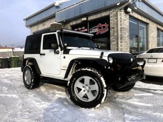 Used 2012 Jeep Wrangler 4 RM 2 portes Sahara for sale in Longueuil, QC