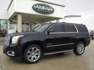 Used 2015 GMC Yukon Denali / LOADED / DVD /NO PAYMENTS FOR 6 MONTHS !! for sale in Tilbury, ON
