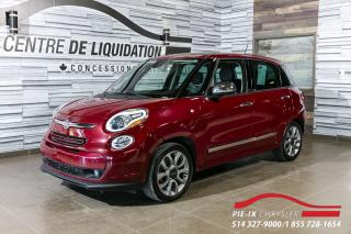 Used 2015 Fiat 500 L Lounge CUIR+TOIT+MAGS+NAVIGATION for sale in Montréal, QC