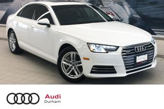 Used 2017 Audi A4 2.0T Komfort quattro + CarPlay | AWD | Sunroof for sale in Whitby, ON