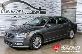 Used 2016 Volkswagen Passat Comfortline+TOIT+CUIR for sale in Laval, QC