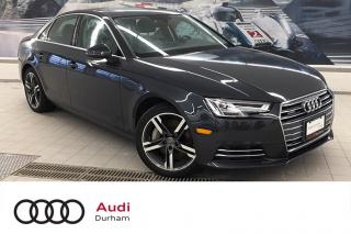 Used 2017 Audi A4 2.0T Technik quattro + CarPlay | 360 Cam | AWD for sale in Whitby, ON
