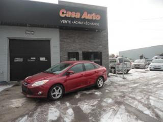 Used 2012 Ford Focus SE for sale in Lévis, QC