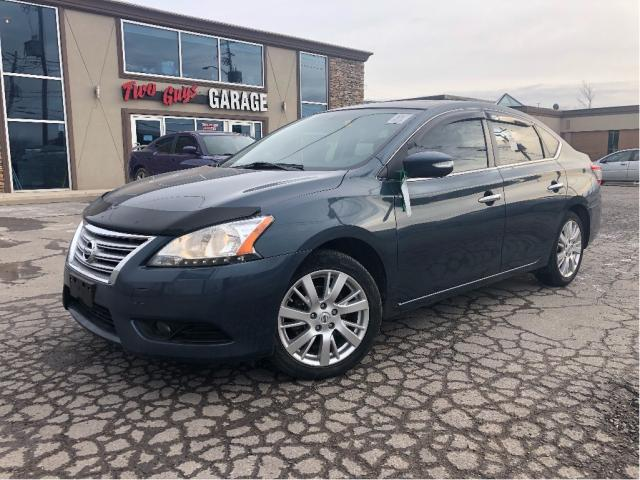 2014 Nissan Sentra 1.8 SL | Nav | Leather | Sunroof | Auto | Loaded |