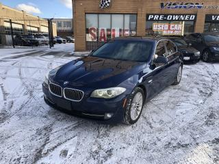 Used 2011 BMW 5 Series 4dr Sdn 535i xDrive AWD-NAVI-SUNROOF for sale in North York, ON