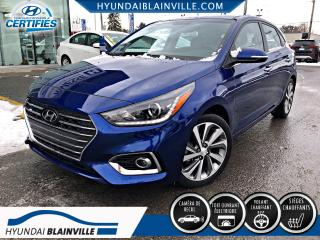 Used 2018 Hyundai Accent GLS 5 PORTES CUIR, APPLE CARPLAY, CAMÉRA for sale in Blainville, QC