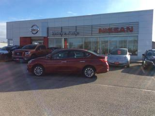 Used 2017 Nissan Sentra 1.8 SV CVT for sale in Smiths Falls, ON