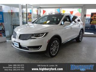 Used 2018 Lincoln MKX Reserve for sale in London, ON