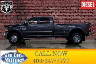 Used 2017 RAM 3500 4x4 Crew Cab Laramie Diesel Dually for sale in Red Deer, AB