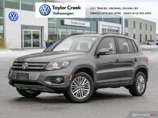 Used 2016 Volkswagen Tiguan Special Edition 2.0T 6sp at w/Tip 4M Roof & NAV for sale in Orleans, ON