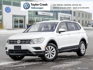 Used 2019 Volkswagen Tiguan Trendline 2.0 8sp at w/Tip 4M for sale in Orleans, ON