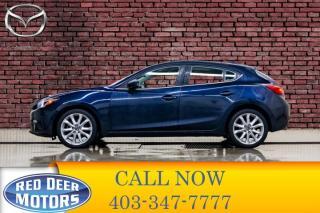 Used 2015 Mazda MAZDA3 GT Hatchback Leather Roof Nav for sale in Red Deer, AB