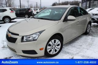 Used 2014 Chevrolet Cruze 4dr Sdn 1LT for sale in Laval, QC
