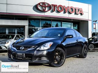 Used 2010 Nissan Altima Coupe 2.5 S CVT Sunroof! Heated seats! for sale in Surrey, BC