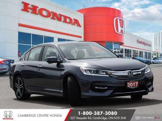 Used 2017 Honda Accord Sport POWER SUNROOF | APPLE CARPLAY™ & ANDROID AUTO™ | PUSH BUTTON START for sale in Cambridge, ON