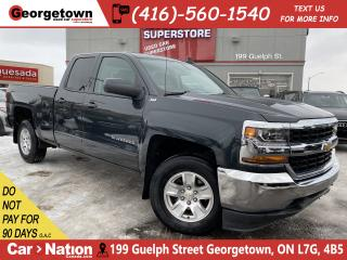 Used 2018 Chevrolet Silverado 1500 LT | DOUBLE CAB | 4X4 | V8 | BACK UP CAM|BLUETOOTH for sale in Georgetown, ON