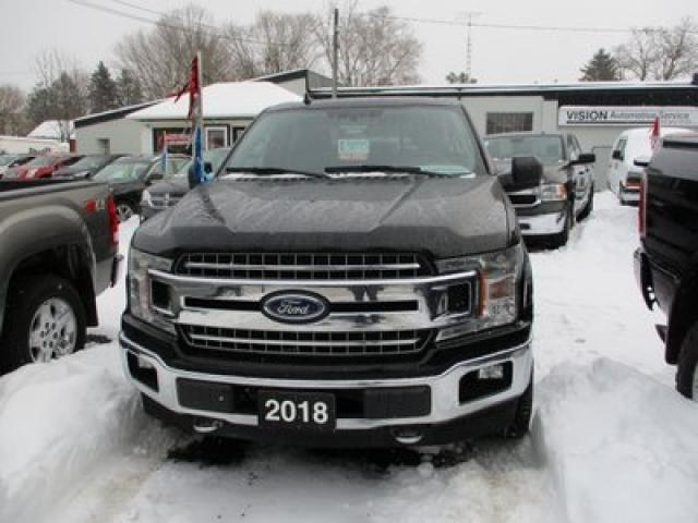 2018 Ford F-150 WORK READY XTR EDITION 6 PASSENGER 5.0L - V8.. 4X4.. CREW.. SHORTY.. NAVIGATION.. BACK-UP CAMERA.. TOUCH SCREEN DISPLAY..