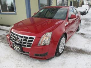 Used 2012 Cadillac CTS ALL-WHEEL DRIVE LUXURY EDITION 5 PASSENGER 3.0L - V6.. LEATHER.. HEATED SEATS.. PANORAMIC SUNROOF.. BACK-UP CAMERA.. KEYLESS ENTRY.. for sale in Bradford, ON