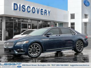 Used 2017 Lincoln Continental Reserve for sale in Burlington, ON