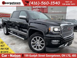 Used 2017 GMC Sierra 1500 DENALI |NAVI|CREW|4X4|ROOF|CAM|BOSE|LEATHER|V8 for sale in Georgetown, ON