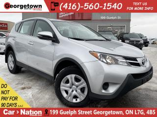 Used 2015 Toyota RAV4 LE | BLUETOOTH | 4CYL | LOW KM | ALLOY WHEELS | for sale in Georgetown, ON