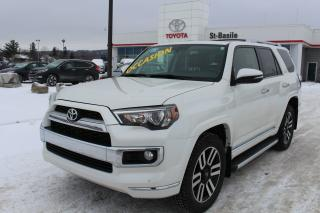 Used 2016 Toyota 4Runner LIMITED AWD CUIR TOIT MAGS SIEGES CHAUFFANTS for sale in St-Basile-le-Grand, QC