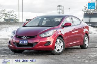 Used 2013 Hyundai Elantra 1 Owner Clean Carfax Certified Serviced We Finance for sale in Bolton, ON