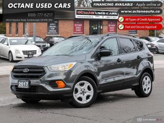 Used 2017 Ford Escape S Accident-Free! Ontario Vehicle! Certified! for sale in Scarborough, ON
