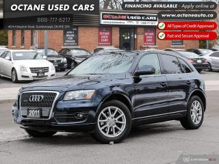Used 2011 Audi Q5 2.0T Premium Plus Accident-Free! Certified! for sale in Scarborough, ON