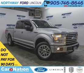Used 2016 Ford F-150 XLT | 3.5L ECOBOOST | NAV | HTD SEATS | XTR PKG | for sale in Brantford, ON