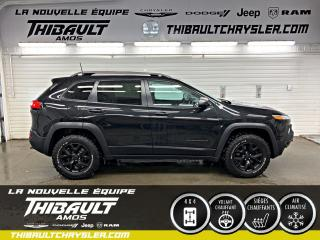 Used 2016 Jeep Cherokee Trailhawk for sale in Amos, QC