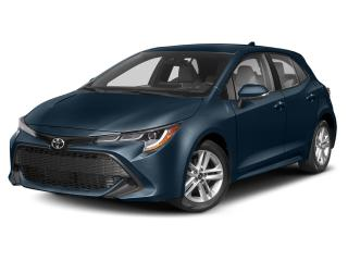 New 2020 Toyota Corolla Hatchback for sale in Fredericton, NB