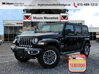 New 2020 Jeep Wrangler Unlimited Sahara  -  Android Auto - $291 B/W for sale in Ottawa, ON