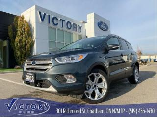 Used 2019 Ford Escape Titanium, 4WD, Navigation, $223 Biweekly lease! for sale in Chatham, ON