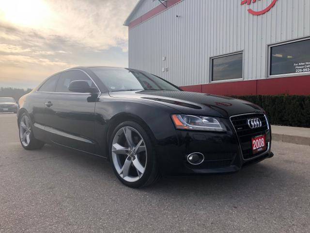 2008 Audi A5 3.2 QUATTRO, LOW KMS!