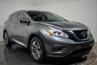 Used 2017 Nissan Murano SL AWD CUIR TOIT PANO NAV MAGS for sale in St-Hubert, QC