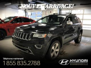 Used 2014 Jeep Grand Cherokee OVERLAND ECODIESEL + GARANTIE + NAVI !! for sale in Drummondville, QC