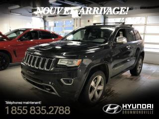 Used 2014 Jeep Grand Cherokee OVERLAND ECODIESEL + GARANTIE + NAVI !! for sale in Drummondville, QC