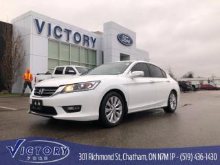 Used 2014 Honda Accord EX-L, Heated Seats, Sunroof for sale in Chatham, ON