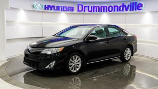 Used 2013 Toyota Camry XLE + GARANTIE + CUIR + TOIT + WOW !! for sale in Drummondville, QC
